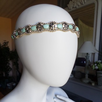 Headbead Green VENDU!!!