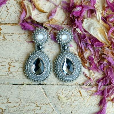 Big Silver Earring VENDU!!!
