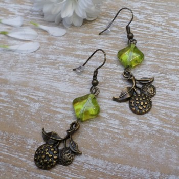 Earring With Fruits VENDU!!!
