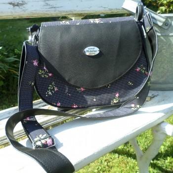 Black Bag With Roses VENDU!!!