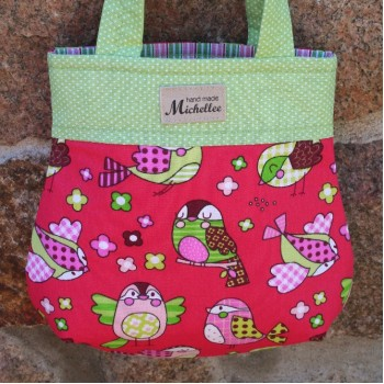 Small Handbag For Girls With Birds