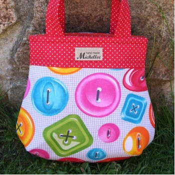 Small Handbag For Girls With Buttons