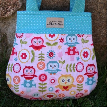 Small Handbag For Girls With Owls