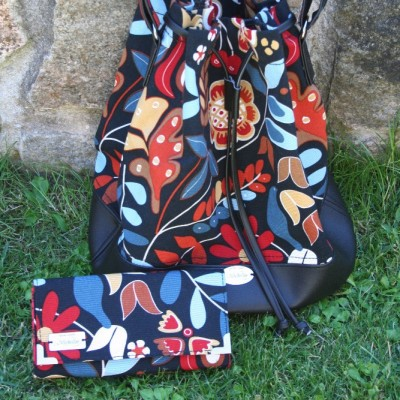 Bag And Wallet Collection With Automne Motiv VENDU!!!