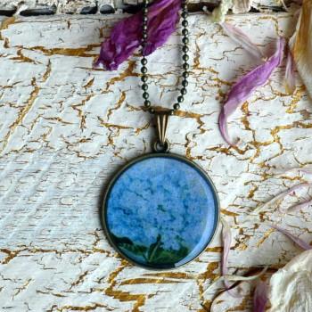 Vintage Hortensia Necklace VENDU!!!