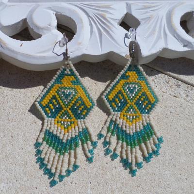 Earring African Beads
