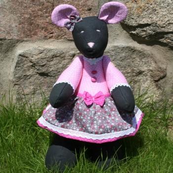 Black Mouse Girl VENDU!!!