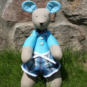 Bicolor Blue Mouse Boy VENDU!!! VENDU!!!