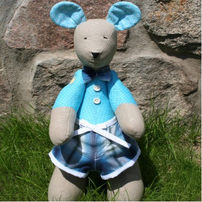 Bicolor Blue Mouse Boy