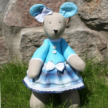 Bicolor Blue Mouse Girl VENDU!!!