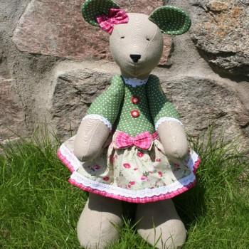 Green Mouse Girl VENDU!!!