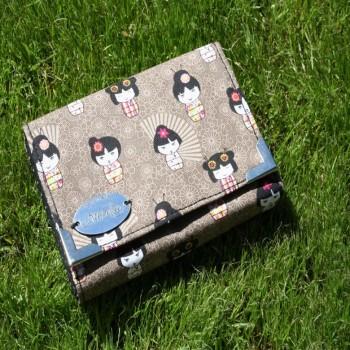 Wallet With Japane Motiv VENDU!!!