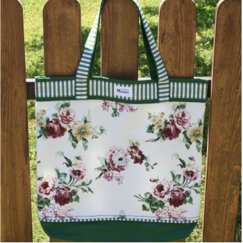 Plage or Shopping Bag Classic With Rosses