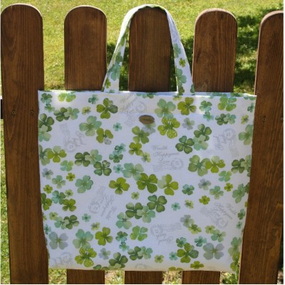 Plage or Shopping Bag Padding With Four-leaf clover VENDU!!!
