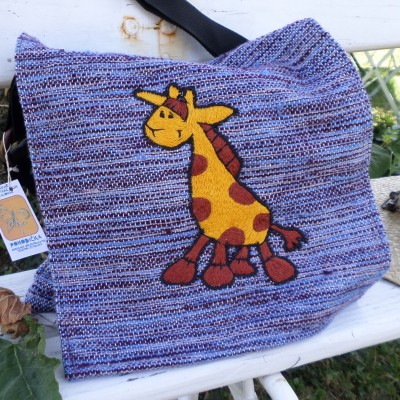 Bag Giraffe  Blue VENDU!!!