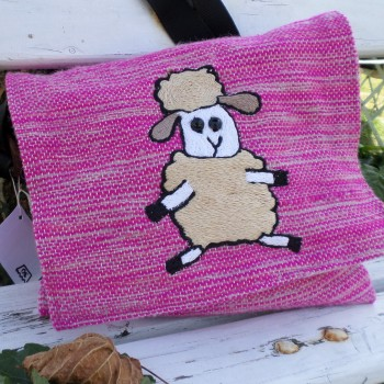 Bag With Sheep Pink
