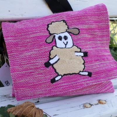 Bag With Sheep Pink