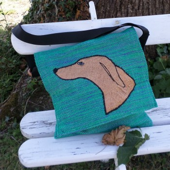 Bag With Dog Green