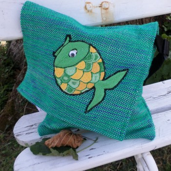 Bag With Fish Green