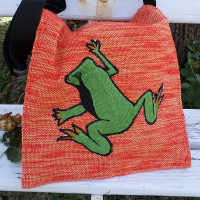Bag With Frog Duocolor